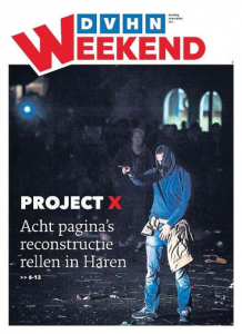 Voorpagina Project X
