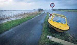 Boot hoog water